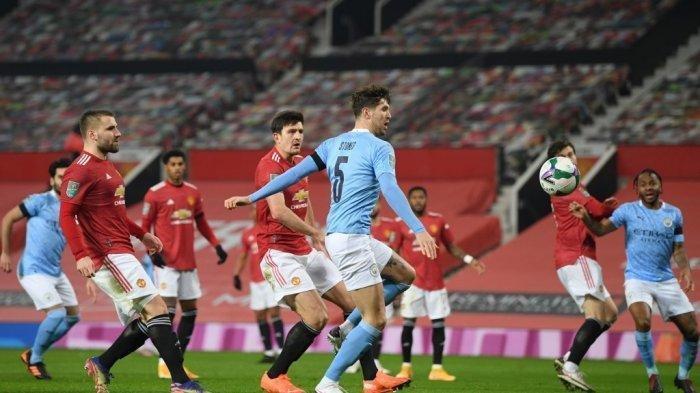 Manchester City vs Manchester United (MU) - Prediksi & LINK Siaran Live Streaming di TV Liga Inggris