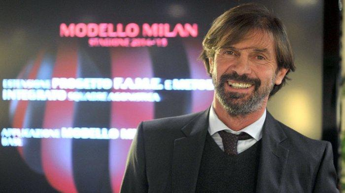 Mantan bek Rossoneri Filippo Galli