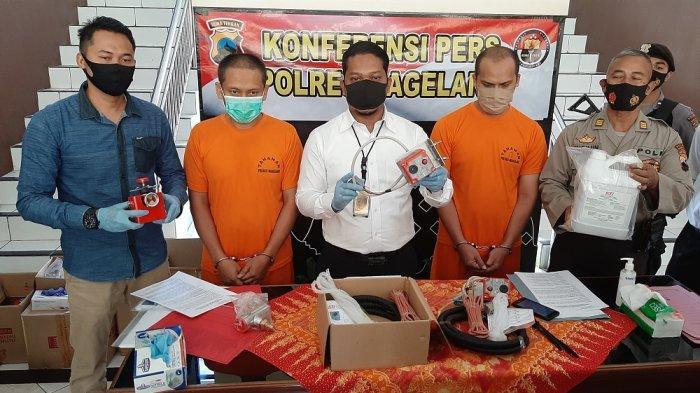 Mantan Manajer di Magelang Ditangkap Karena Gelapkan Barang Perusahaan Senilai Rp 1,7 Miliar