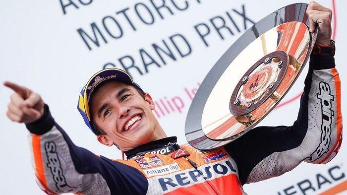 Hasil MotoGP Valencia 2019 - Marquez Persembahkan Triple Crown untuk Repsol Honda