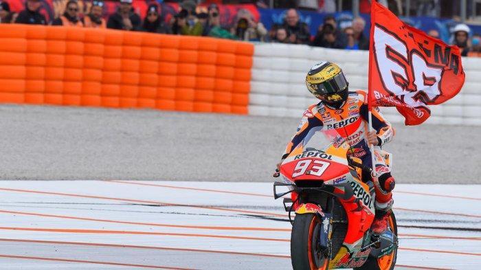 Marc Marquez Kalahkan Rekor Lorenzo, Raih Poin Tertinggi di MotoGP