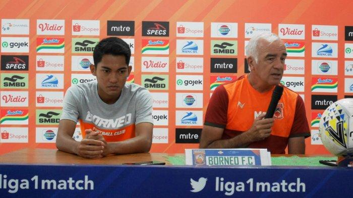 PSS Sleman Vs Borneo FC : Mario Gomez Tegaskan Timnya Ingin Mencuri Poin