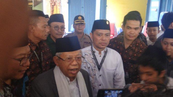 Ma'ruf Amin Setuju Petugas KPPS yang Meninggal Diberi Penghargaan dan Santunan
