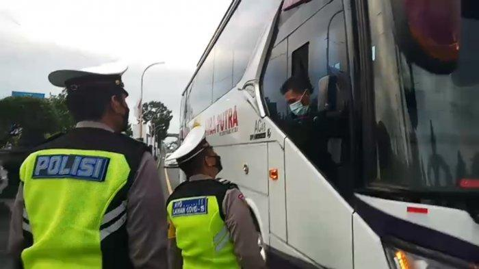 Masih Temui Penumpang Bus Tak Lengkapi Surat Perjalanan, Satlantas Magelang Beri Peringatan Tegas