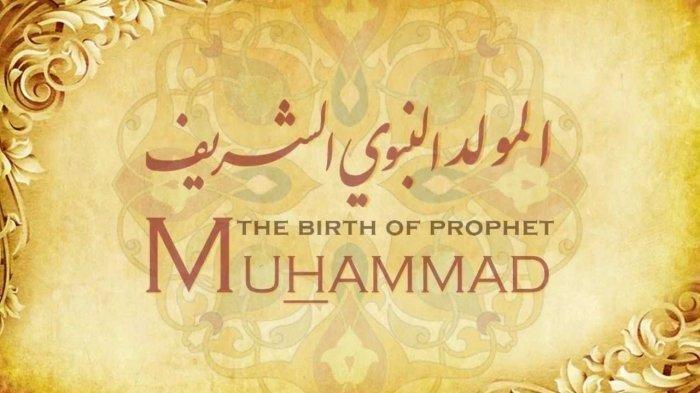 Ilustrasi ucapan Maulid Nabi Muhammad SAW