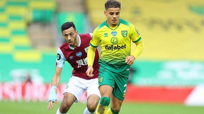 LIGA INGGRIS: Alasan MU Tertarik Bek Norwich City Max Aarons