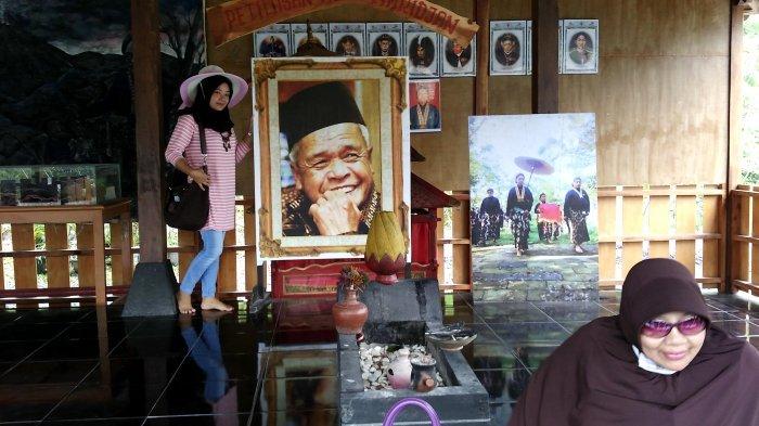 TRIBUN JATENG/GALIH PERMADI Petilasan Mbah Maridjan
