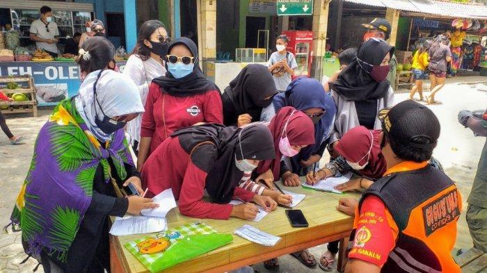 Membandel, Ratusan Wisatawan di Pantai Selatan Gunungkidul Tak Pakai Masker
