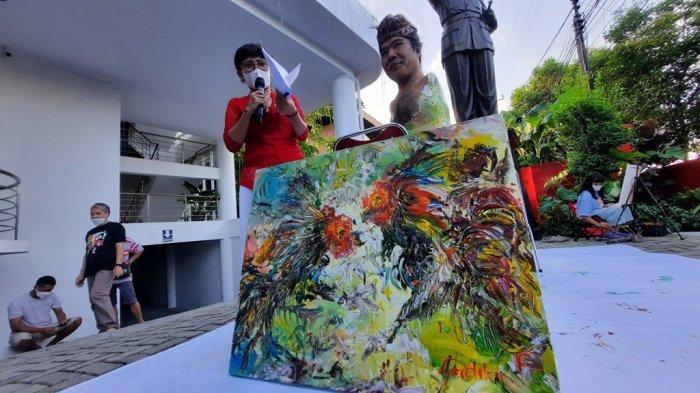 'Memotret Yogyakarta Kini', Belasan Perupa Sajikan Realita di Atas Kanvas
