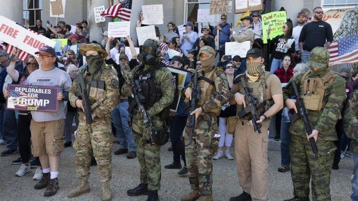 Mengenal Boogaloo, Ekstremis Bersenjata yang Muncul di Tengah Demo di Amerika