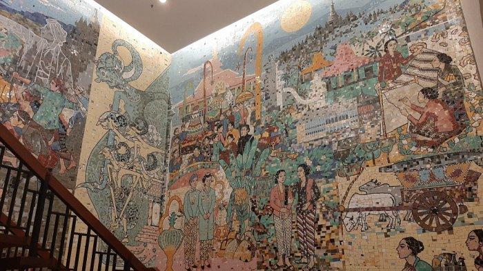 Mengintip Akulturasi Budaya Eropa dan Jawa Lewat Mozaik di Royal Ambarrukmo Yogyakarta Hotel