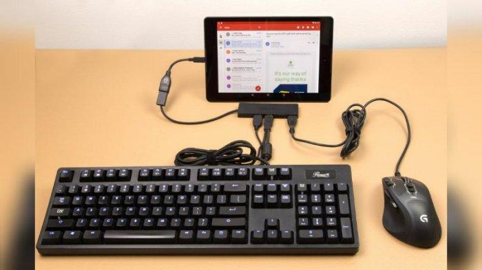 Cara Mengubah Ponsel Android Menjadi Komputer Mini Mengetik Jadi Lebih Mudah Tribun Jogja