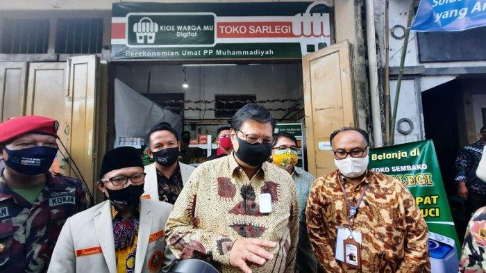 Menko Perekonomian Salurkan KUR Syariah untuk UMKM Anggota Muhammadiyah di Yogyakarta