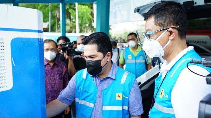 Erick Thohir Pastikan PLN Siap Dukung Era Kendaraan Bermotor Listrik