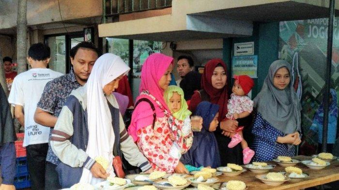 Serunya Berbuka Bareng 3 Ribu Orang di Kampung Ramadan Jogokariyan