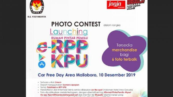Meriahkan Peluncuran e-RPP, KPU DIY Gelar Photo Contest