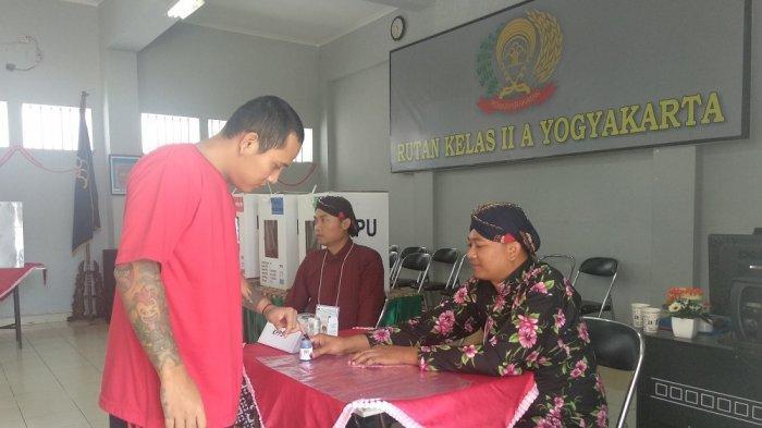 Meski Pemungutan Suara Lancar, Rutan Kelas IIA Yogyakarta Sempat Kekurangan Surat Suara
