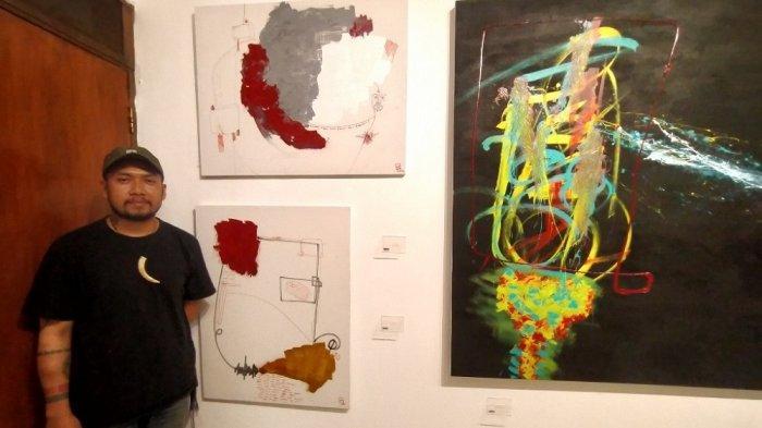 Miftah Rizaq GelarPameran Tunggal Lukisan Bertajuk Terpenjara