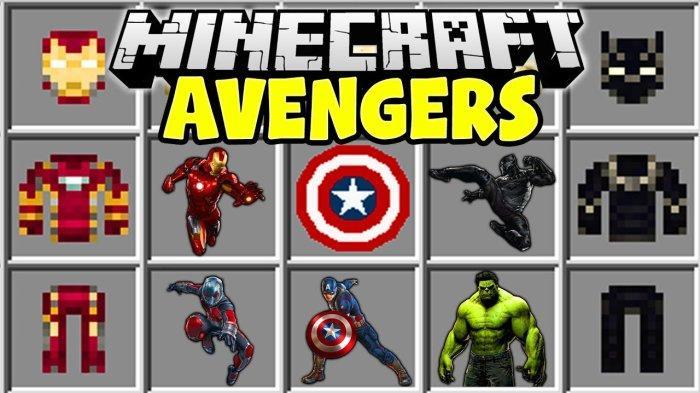 Link Download Minecraft PE, Mod Avangers Superhero yang Bikin Minecraft-mu Lebih Berwarna