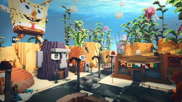 LINK Download Maps Bikini Bottom Game Minecraft, Tersedia di Android