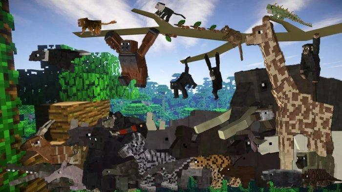 LINK untuk Mengubah Mod Game Minecraft Bertema Satwa