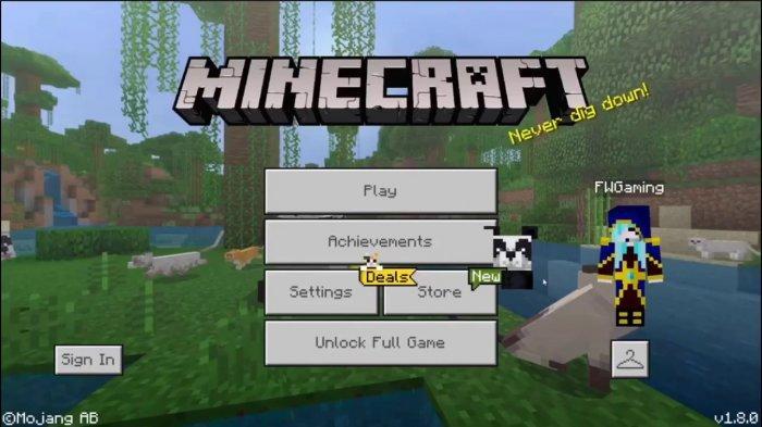 MINECRAFT: Tutorial Cara Download hingga Bermain Game