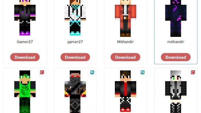 Download Skin HD Minecraft Gratis