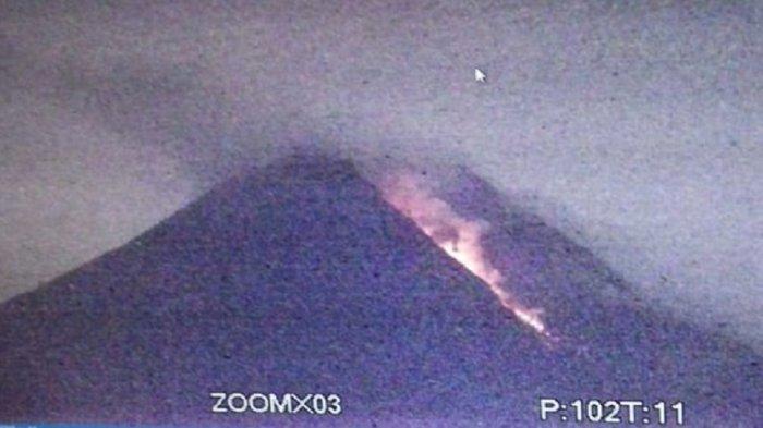 Gunung Merapi Kembali Luncurkan Guguran Lava Pijar ke Arah Kali Gendol