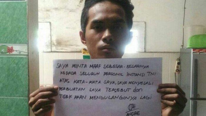 Pemuda Ini Nekat Minta TNI Dibubarkan, Ia pun Lalu Didatangi Tentara dan Minta Maaf Seperti Ini
