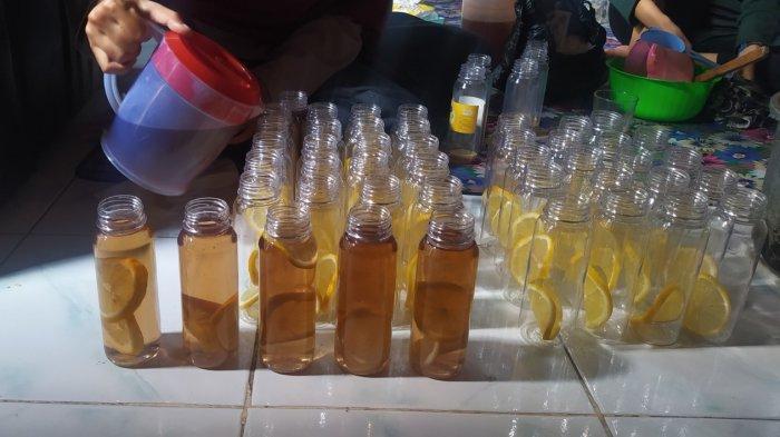 Pemanfaatan lemon dan serai atau sereh untuk minuman kesehatan tradisional 'Leseria'