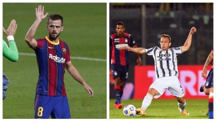 Juventus atau Inter Milan? Jika Miralem Pjanic Pilih Pergi dari Barca
