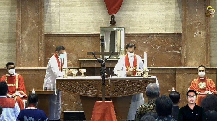 Misa Tri Hari Suci di Kevikepan DI Yogyakarta Berlangsung Sederhana di Tengah Pandemi
