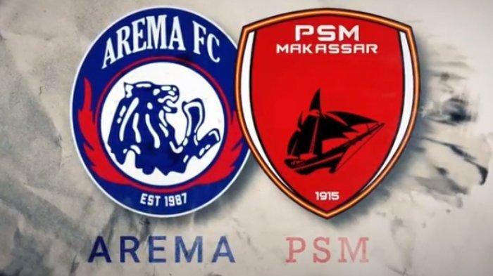 LINK Live Streaming BRI Liga 1 2021 Malam Ini PSM vs Arema FC, Live Indosiar Pukul 18.15 WIB