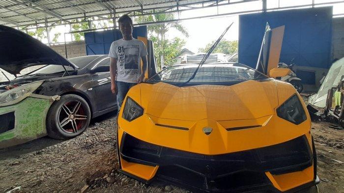 Rubrik Otomotif Gaspol 52: Builder Gunungkidul 'Sulap' Sedan Lawas Bak Super Car Miliaran Rupiah