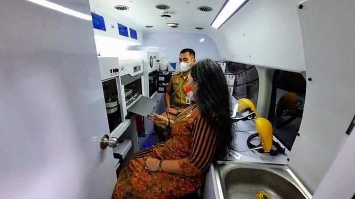 Mobil PCR Bantuan dari Kapolri Telah Tiba di Gunungkidul
