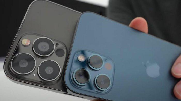 Render penampakan iPhone 13.