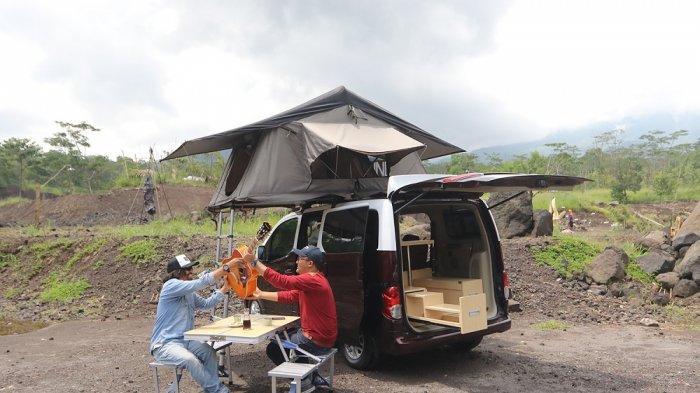 Modifikasi Nissan Evalia SV Jadi Campervan, Pas Buat Piknik