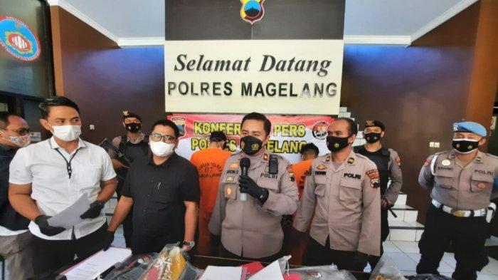 Modus Berpura-Pura Tanya Alamat, Komplotan Pencuri Perhiasan di Magelang Berhasil Dibekuk Polisi