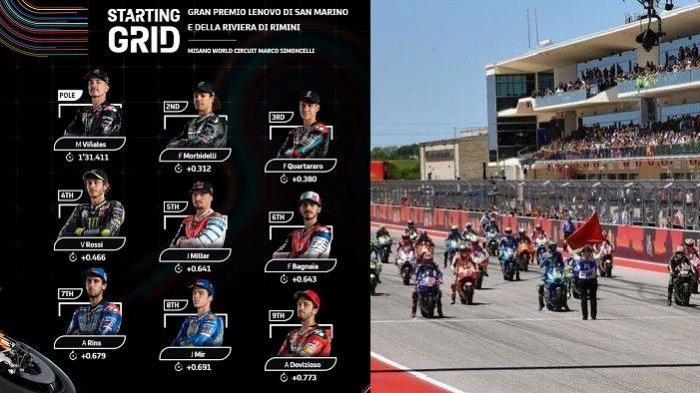 LINK Live Streaming MotoGP San Marino Hari Ini di Trans7 / FOX Sports