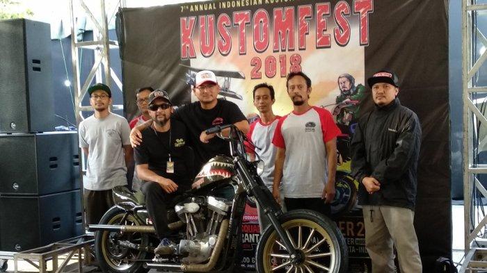 Motor Belo Negoro Jadi Undian Lucky Draw Kustomfest Tahun Ini