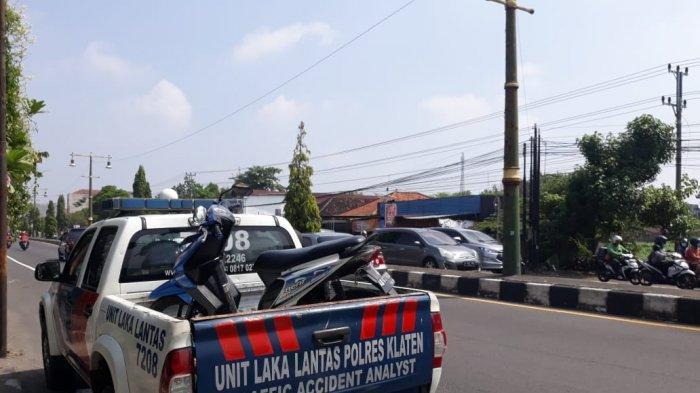 BREAKING NEWS: Kecelakaan di Jalan Yogyakarta-Solo, Seorang Pelajar Klaten Meninggal Dunia
