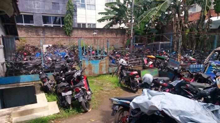 Ratusan Motor Sitaan di Pos Polresta Yogya Belum Diambil Pemiliknya