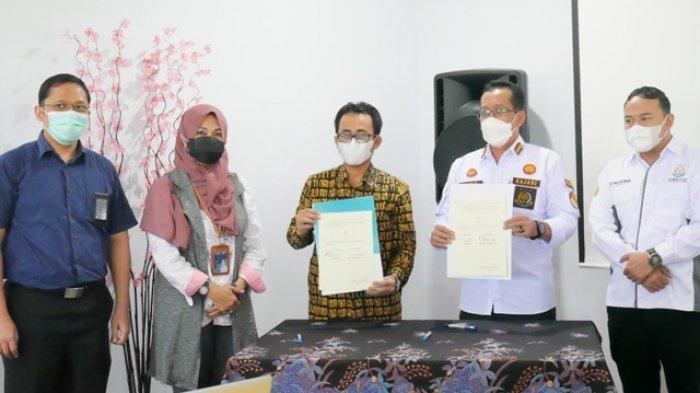 PLN UP3 Tegal Teken Perjanjian Kerja Sama dengan Kejaksaan Negeri Kabupaten Tegal