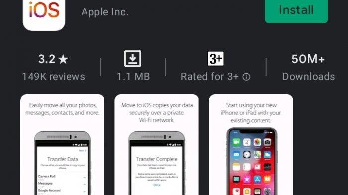 Jurus Baru Apple Rayu Pengguna Android Pindah ke iOS