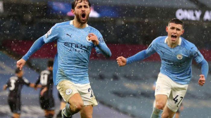 Rating Pemain, Klasemen Premier League, Pencetak Gol Fulham 1-2 MU, Man City 2-0 Villa