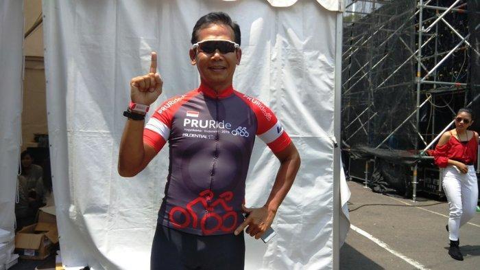 Latihan Rutin, Kunci Muhamad Aris Juarai Master B Pria Kelas Medio Fondo 60K