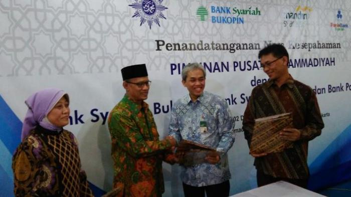 Muhammadiyah Jalin Kerjasama dengan Tiga Bank Syariah