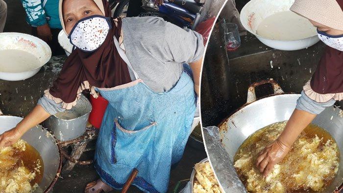 Murni Tanpa Jampi-jampi, Penjual Gorengan Pasar Windusari Magelang Ini Tahan Minyak Panas
