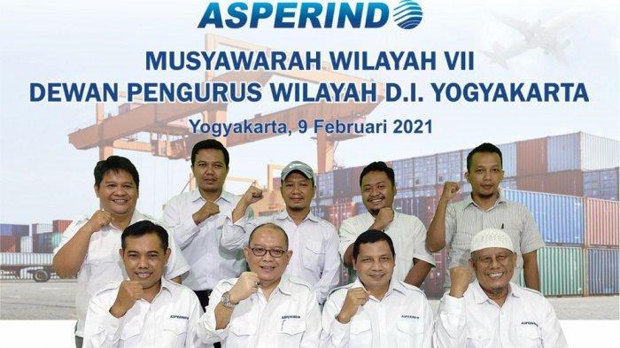 Muswil ASPERINDO VII Tetapkan Adi Subagyo Sebagai Ketua DPW DIY