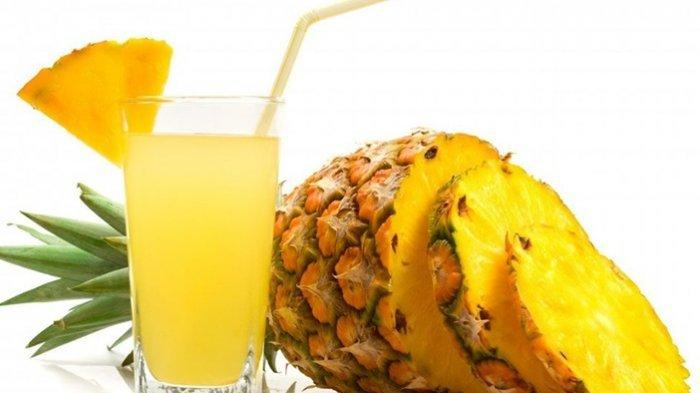 jus dari buah nanas